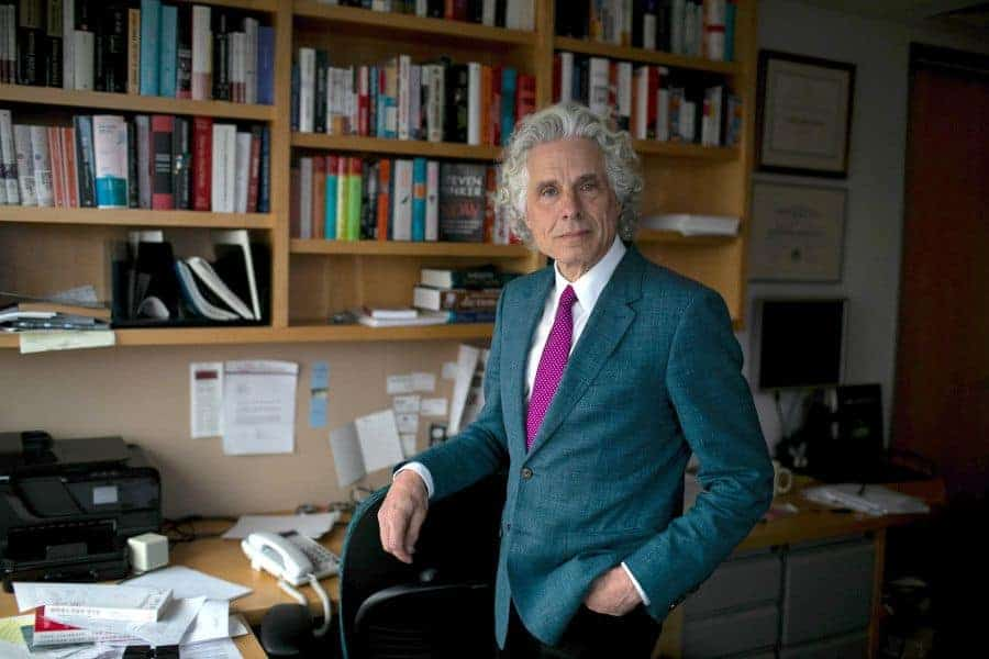 Steven Pinker by Kayana Szymczak for The New York Times