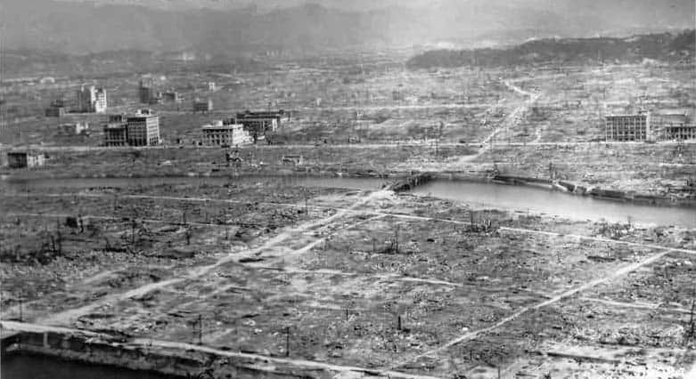 Hiroshima Aftermath, cropped version