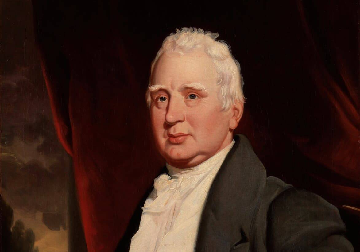Portrait of William Cobbett by the artist George Cooke
