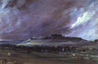 Old Sarum by John Constable (1829)